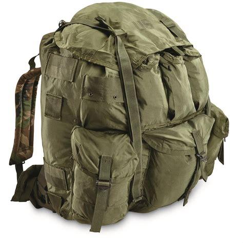 ruck sacks u s surplus a l i c e pack with metal frame used 187168 rucksacks backpacks at