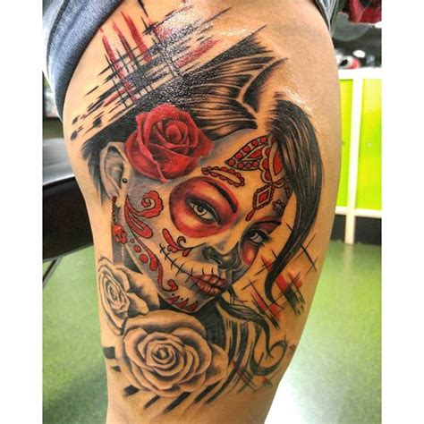los muertos tattoo designs best dia delos muertos tattoos images styles ideas
