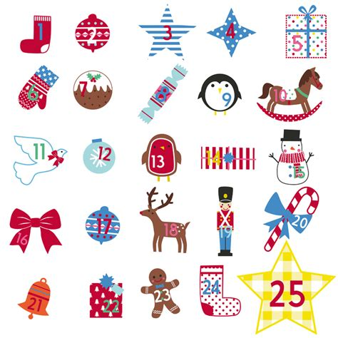 wall sticker calendar personalised advent calendar tree wall stickers