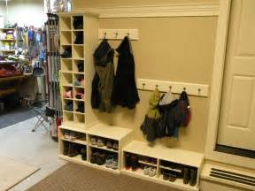 Garage Mudroom Designs Garage Mud Room By Hutchmp Lumberjocks Com