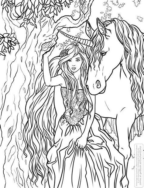 advanced unicorn coloring pages selina fenech unicorn fantasy myth mythical mystical
