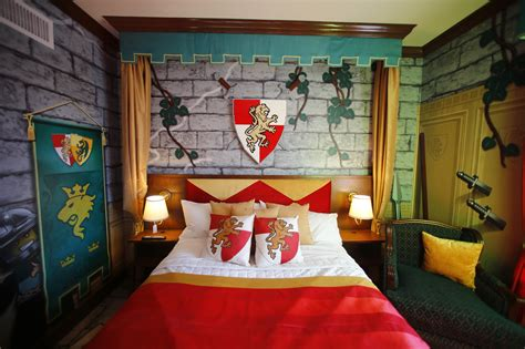 knights bedrooms photos america s only legoland hotel opens for business