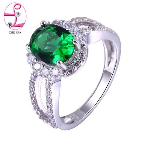 Cincin Fashion Wanita Logam Emas Oval Gemsotne Terbaru B36071 jelas hijau promotion shop for promotional jelas hijau on aliexpress alibaba