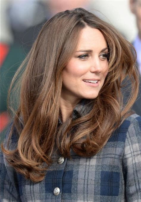 is kate middletons hair mahogany best hair ever kate middleton my style pinterest