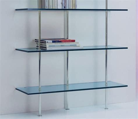Rak Buku Kaca model rak dinding kaca minimalis modern desain rumah