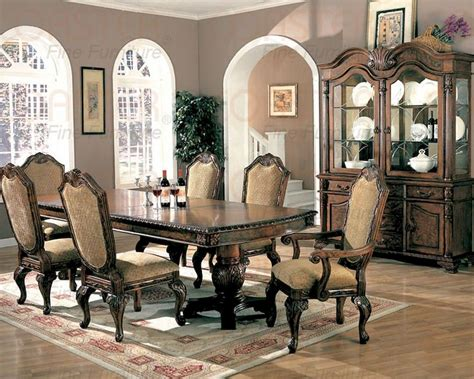 Coaster Dining Room Sets by Dining Room Set In Brown Cherry