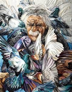 Yulia Brodskaya Yulia Brodskaya Doves Papercraft