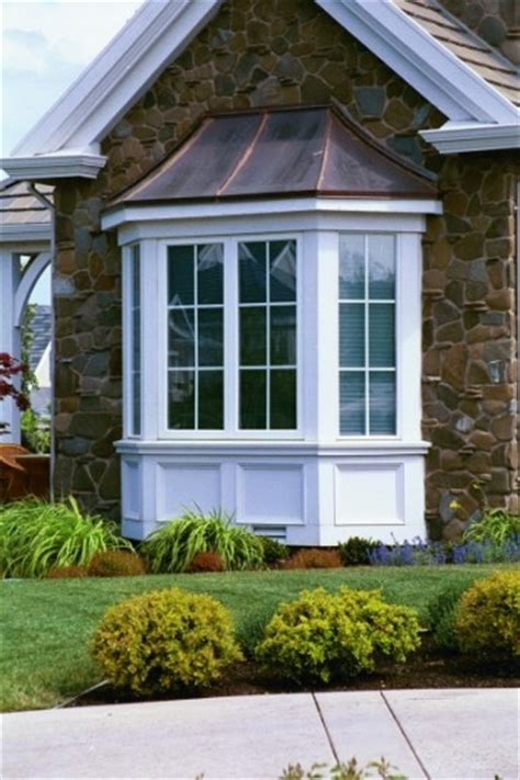 bay window pictures bay window exterior on pinterest exterior window trims