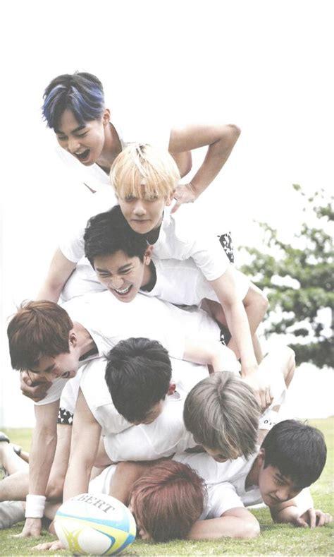 exo dear happiness exo fiji photobook dear happiness kai d o sehun chen