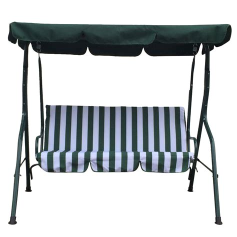 outdoor swing bench with canopy new swing bench outdoor canopy porch garden swing chair