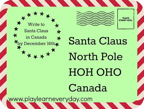 letter to santa template canada post writing letters to santa around the world play and learn