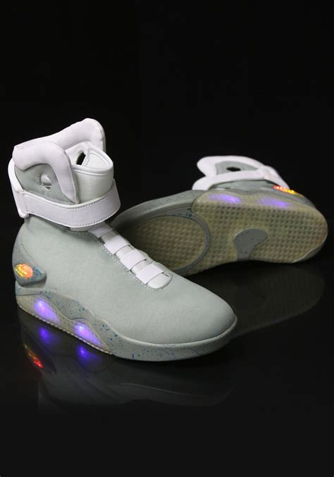futures shoes back to the future 2 light up shoes