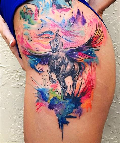 100 most beautiful watercolor tattoo ideas mybodiart