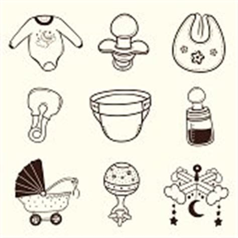 bettdecke icon baby icon kollektion vektorgrafik thinkstock