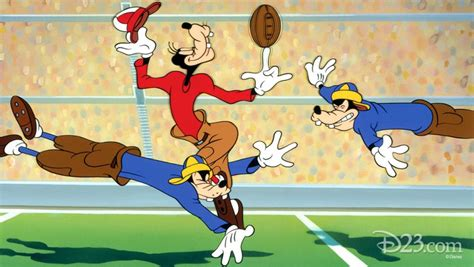 film cartoon football let goofy teach you how to play football d23