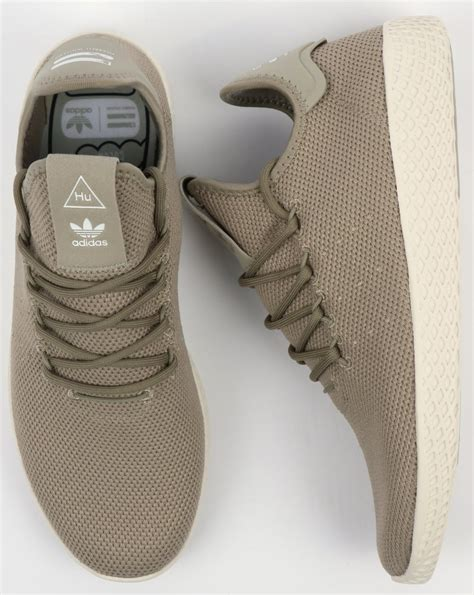 White Pw Casual Tali adidas pw tennis hu trainers tech beige white pharrell williams shoes