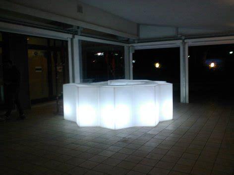 bancone bar illuminato bancone bar illuminato iceberg light pedrali