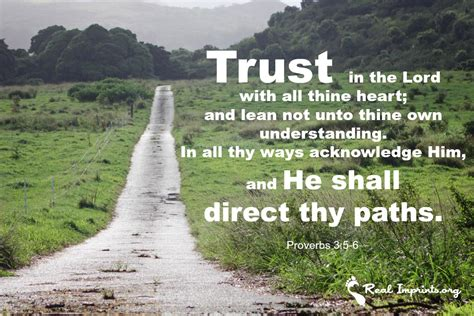 thåy iãn trust in the lord real imprints