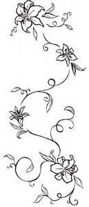 flower and vine tattoo designs ideas photo flower vine