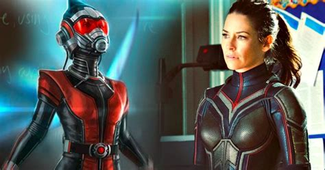 ant man movieweb movie news movie trailers movie the wasp costume fully revealed in new ant man 2 set