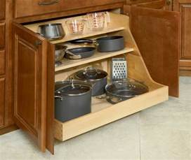 Kitchen Cabinet Storage Bins Pot And Pan Organizer For The Home Pinterest