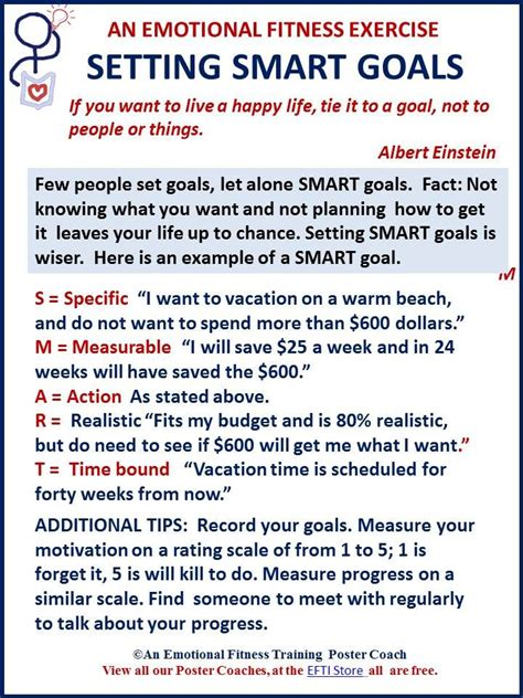 Setting And Achieving Goals Essay by Smart Goals Move You Forward Emotional Fitness Tips Students Smart Goals