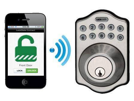 Wifi Bolt Lock remotelock ls 5i deadbolt lock wifi enabled satin nickel home improvement
