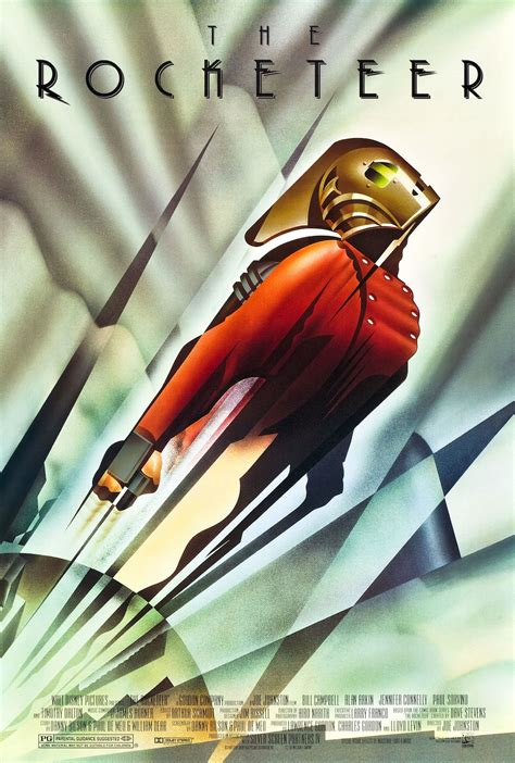 before the first avenger quot the rocketeer quot 25 years later