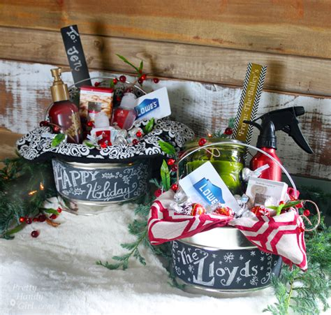 hostess gifts in a paint can lowe s creative idea