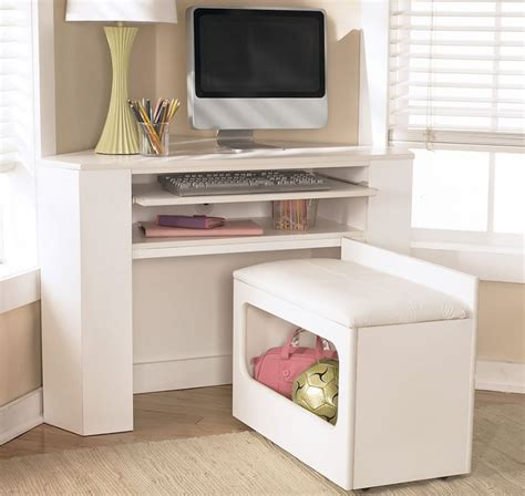White Corner Desk With Storage Pin By Bumgarner On Cabinets Furniture Pinterest