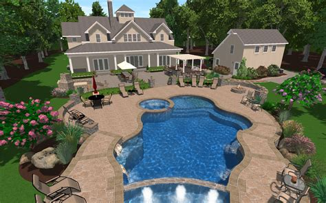 pool and patio decor inground pool designs ideas resume format pdf also