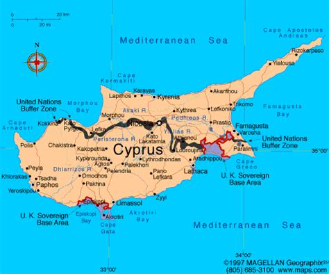 cyprus map maps cyprus map maps of cyprus europe