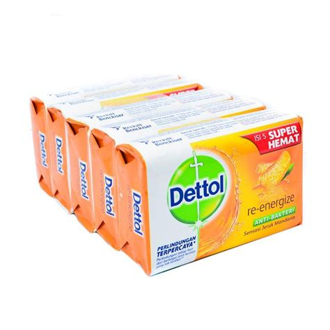 Sabun Mandi G jual dettol reenergize anti bakteri sabun mandi 65 g 5