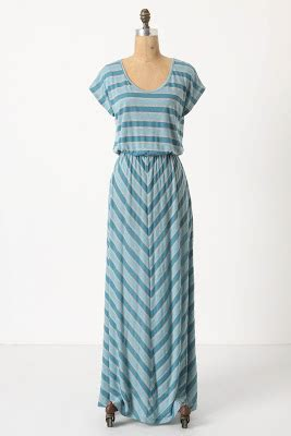 Maxi Flow Navy breakfast at anthropologie striped dresses