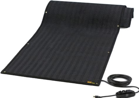 heattrak portable residential and industrial snow melting mat