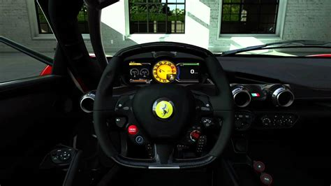 ferrari dashboard la ferrari dashboard youtube