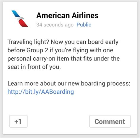 american airlines policy american airlines adjusts its boarding policy for those with small bags economy class beyond