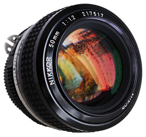 Nikon F1 2 nikkor 50mm f1 2 171 55millimeter