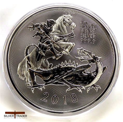 10 Oz Silver Coin Price by 2018 Silver Valiant 10 Oz Royal Mint Silver Bullion Coin