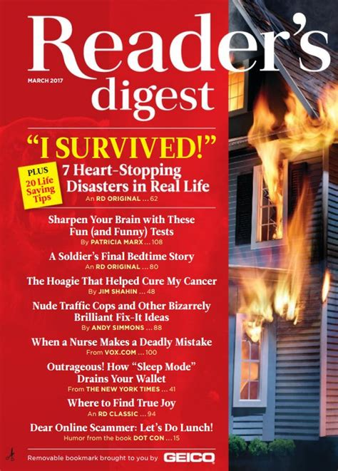 Home Decor Magazine Pdf readers digest usa march 2017 pdf download free