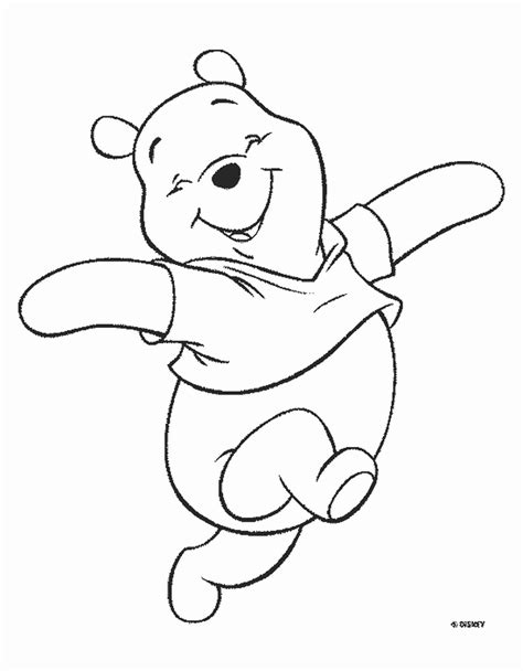 Coloring Pages Winnie The Pooh by Winnie The Pooh Disney Coloring Pages