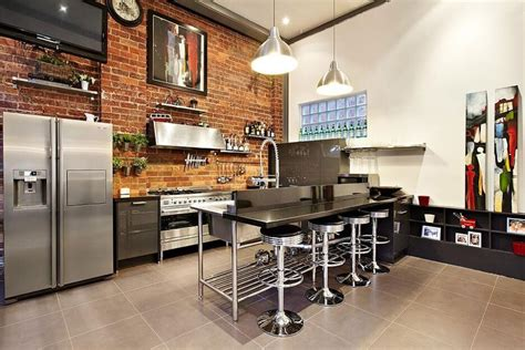 cool kitchen design 10 cool kitchen interior design ideas with brick walls