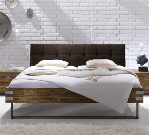 Vintage Bett Holz by Vintage Bett Aus Akazienholz Z B In Braun Hamina