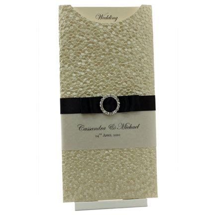 dl wallet wedding invitations wedding invitations dl pocket pebbles ivory