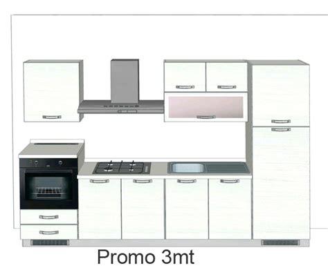 cucina di 3 metri cucine componibili 3 metri idee per il design della casa