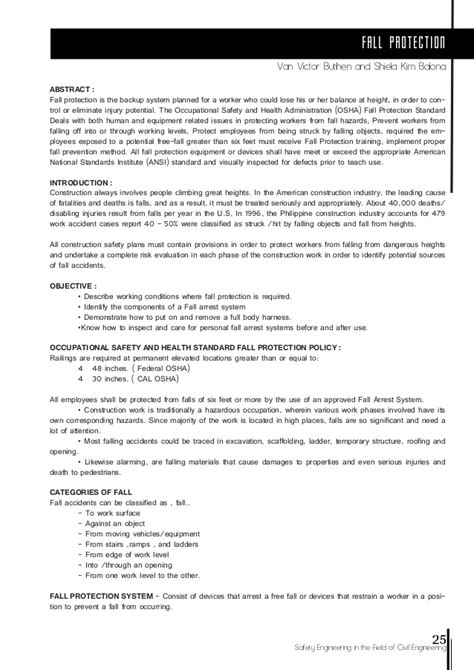 Compilation Reports Template Safety Engineering Compilation Of Reports