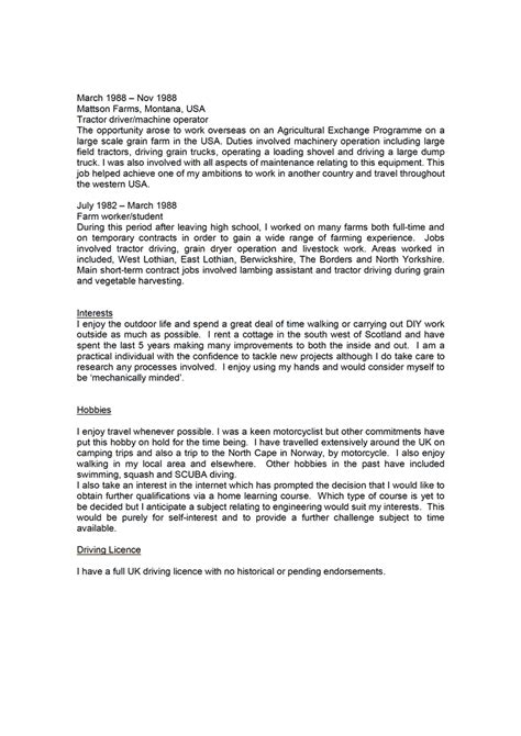 Resume Writing Personal Profile Doc 12401754 Exle Resume Personal Profile Resume Sle Profile Exle Bizdoska