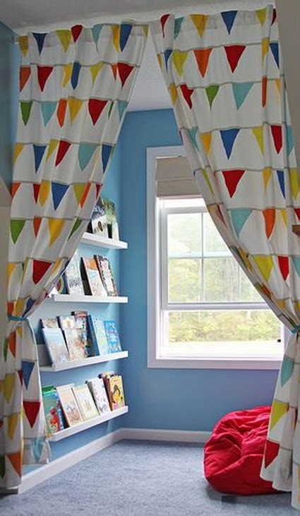 playroom curtain ideas rincones de lectura para ni 241 os decoraci 243 n de interiores