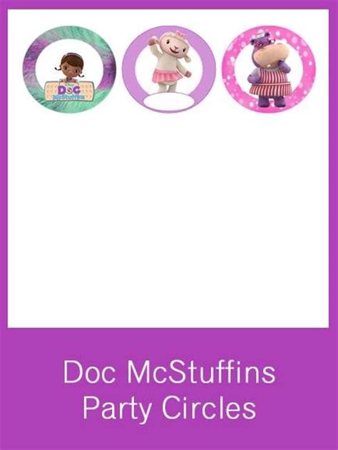 printable letter templates for cake decorating 17 best images about doc mcstuffins printable party