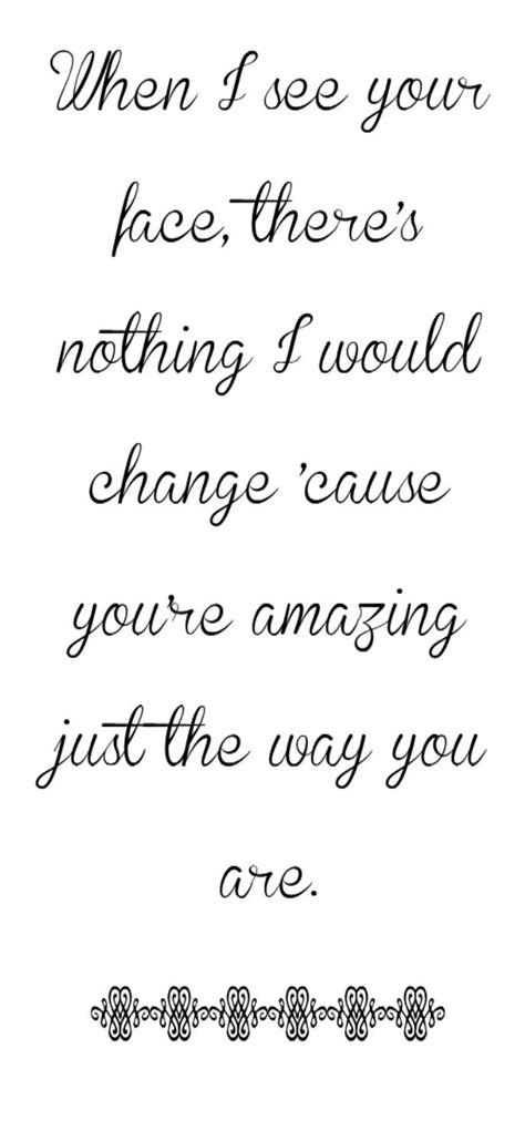 Bruno Mars - Just The Way You Are - song lyrics, song
